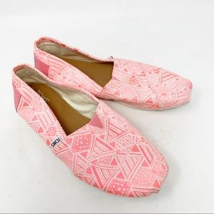Toms classic slip on loafers